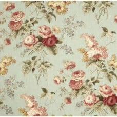 Emma's Garden Mist Home Decor Fabric By Waverly