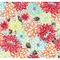 Floral Splash Indoor Outdoor Fabric