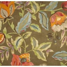 REMNANT - Modern Poetic Home Decor Fabric in Flaxseed by Waverly Fabric Traders