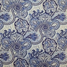 Paddock Shawl Porcelain Home Decor Fabric By Waverly