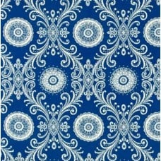 Reflective in Indigo Sun N Shade by Waverly Fabric Traders