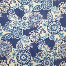 Solar Energy Lapis Indoor Outdoor Fabric Fabric Traders