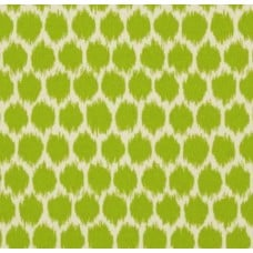 Spots in Lime and Ivory Indoor Outdoor Fabric