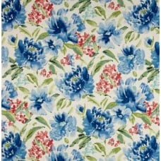 Spring Forth in Blue Home Decor Fabric by Waverly
