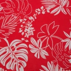 Lagoon Outdoor Fabric in Passion Flower