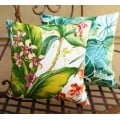 Cushion Cover - Paradise Point Fresco Indoor Outdoor Fabric