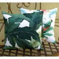 Cushion Cover - Swaying Palms Indoor Outdoor Fabric