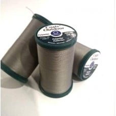 Thread Outdoor Polyester 182m Grey by Coats and Clark