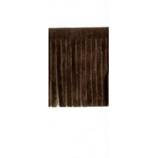 Fringing Faux Suede Brown 5cm