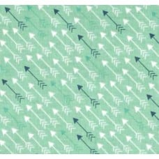 Modern Minis Arrows Minty Cotton Fabric by Riley Blake