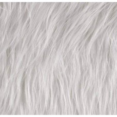 Faux Fur Luxury Shag White Fabric