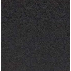 Faux Leather Black Hide Fabric
