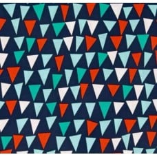 Ahoy Matey Point of Sail Navy Fabric by Michael Miller