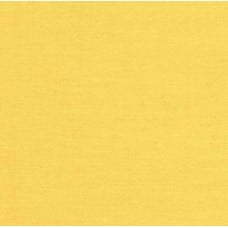 Broadcloth Cotton Couture Fabric in Canary Yellow by Michael Miller