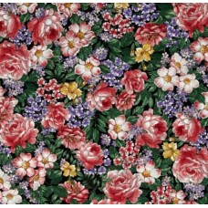 Flower Fairies Dreamland Flowers Cotton Fabric by Michael Miller