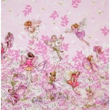 Petal Flower Fairies Cotton Fabric by Michael Miller
