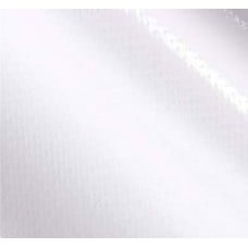 Mexican Oilcloth Laminated Fabric Solid White