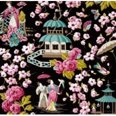 Summer Palace Teak Home Decor Cotton Fabric