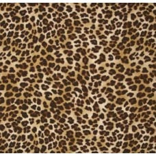 Leopard Sand Home Decor Cotton Fabric