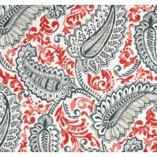 Shannon Indoor Outdoor Fabric Coral Indian by Premier Prints