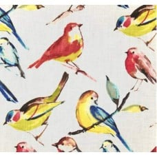Birdwatcher Summer Home Decor Fabric
