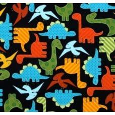 Urban Zoologie Dinosaurs Cotton Fabric