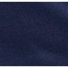 Satin Duchess Fabric in Navy