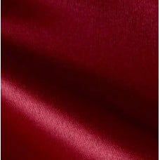 Satin Duchess Fabric in Rich Red