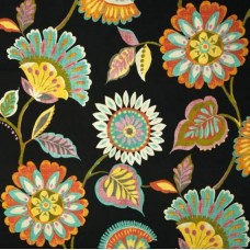 Woodcourt Floral Outdoor Fabric