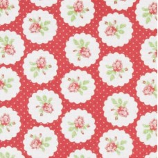 Lulu Roses in Lotti Red by Tanya Whelan