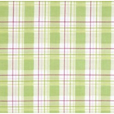 Zoey's Garden Faux Plaid Green by Tanya Whelan