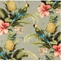 Beach Bounty Tangelo Indoor Outdoor Fabric by Tommy Bahama