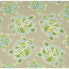 Tranquil Turtles Jungle Outdoor Fabric by Tommy Bahama