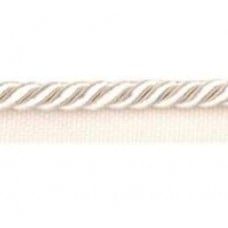 Twisted Cord 6mm Trim with Piping Ivory 90cm