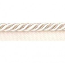 Twisted Cord 6mm Trim with Piping Ivory per 90cm