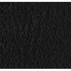 REMNANT - Terry Towelling Black 100% Cotton High Quality Fabric