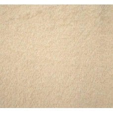 Terry Towelling Cream 100% Cotton High Quality Fabric
