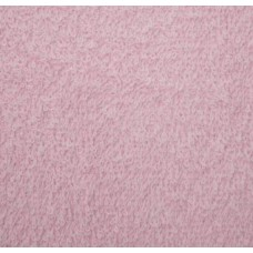 Terry Towelling Soft Pink 100% Cotton High Quality Fabric