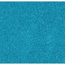 Vinyl Fabric Sparkle in Bright Light Blue