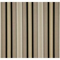 REMNANT - Down that Laneway Stripe Ebony Outdoor Fabric Sun n Shade by Waverly