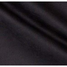 Faux Suede Soft Upholstery Fabric in Black