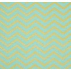 Metallic Sleek Chevron in Pearlized Mist By Michael Miller Cotton Fabric
