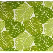 Monstera Palms Jumbo in Green Outdoor Fabric