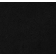 Solid Black Faux Microsuede Fabric