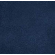 Solid Navy Faux Micro suede Fabric - OFFCUT