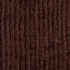 Thick Chenille Fabric in Husk Brown