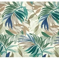 Tropical Oasis Chambray Outdoor Fabric