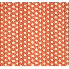 Sun n Shade in Ivory and Orange Outdoor Fabric by Waverly