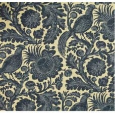 Tuckers Daughter Chambray Floral Outdoor Fabric