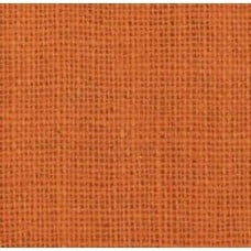 Burlap Fabric in Orange Burst